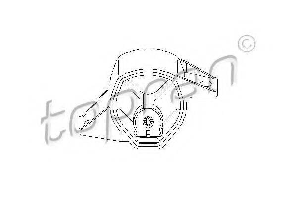 TOPRAN 110229 Подвеска, ступенчатая коробка передач