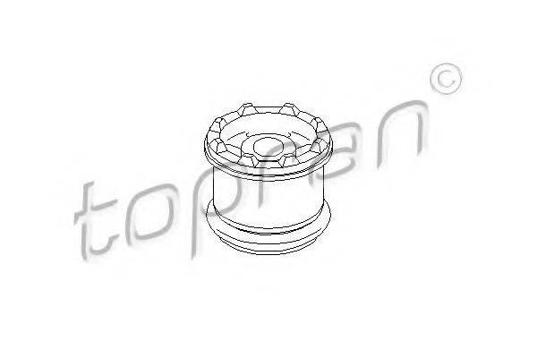 TOPRAN 107983 Подвеска, ступенчатая коробка передач