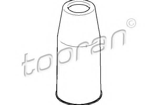 TOPRAN 110527 Защитный колпак / пыльник, амортизатор