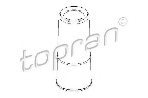 TOPRAN 104344 Защитный колпак / пыльник, амортизатор