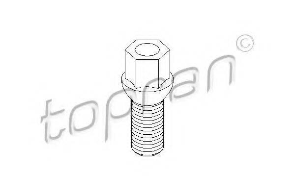 TOPRAN 111477 Болт для крепления колеса