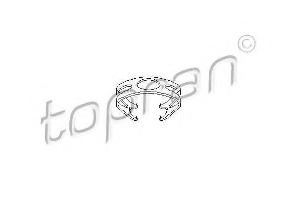 TOPRAN 108718 Кронштейн, тормозной шланг