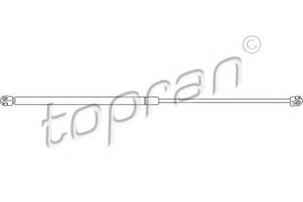 TOPRAN 112054 Газовая пружина, капот