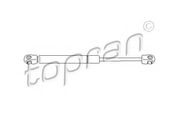 TOPRAN 112065 Газовая пружина, крышка багажник