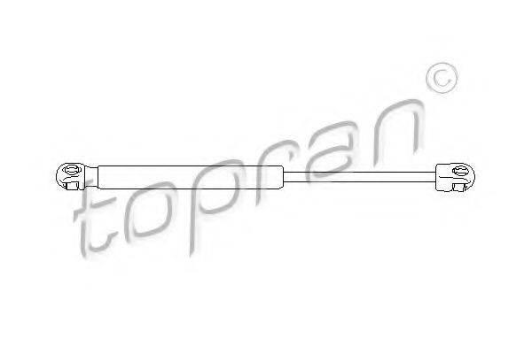 TOPRAN 112066 Газовая пружина, крышка багажник