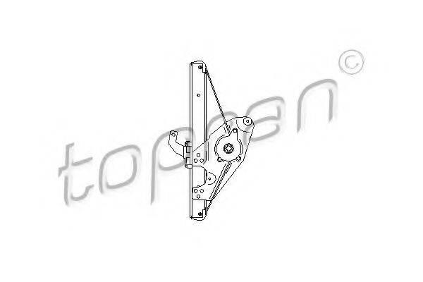 TOPRAN 112366 Подъемное устройство для окон