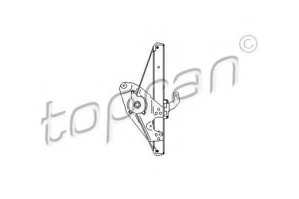 TOPRAN 112367 Подъемное устройство для окон