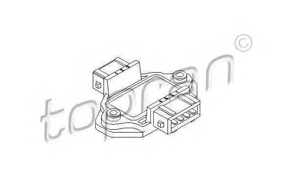 TOPRAN 111747 Блок управления, система зажигания