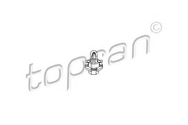 TOPRAN 104366 Лампа накаливания, освещение щитка приборов