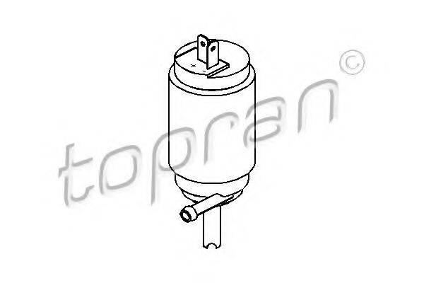 TOPRAN 103630 Водяной насос, система очистки окон