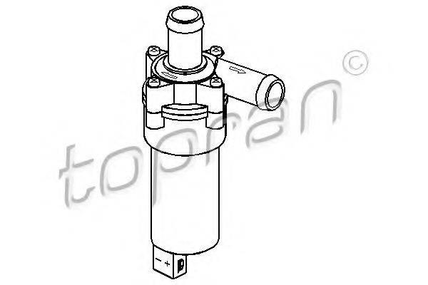 TOPRAN 111016 Дополнительный водяной насос