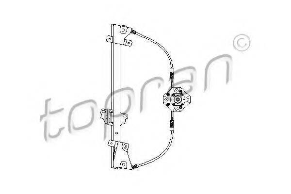 TOPRAN 200035 Подъемное устройство для окон