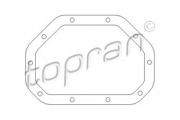 TOPRAN 206470 Прокладка, дифференциал