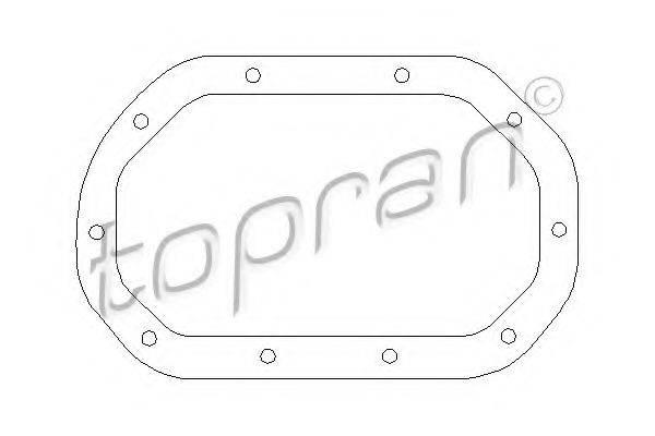 TOPRAN 200513 Прокладка, дифференциал