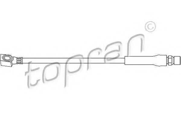TOPRAN 200926 Тормозной шланг