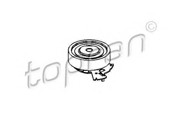 TOPRAN 201214 Натяжной ролик, ремень ГРМ