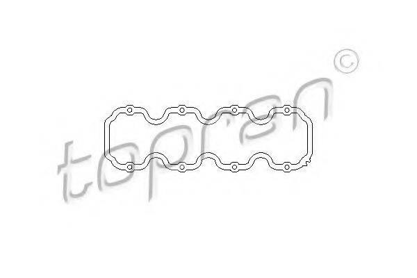 TOPRAN 201230 Прокладка, крышка головки цилиндра