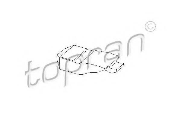 TOPRAN 201239 Балансир, управление двигателем