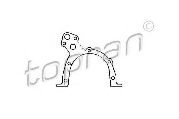 TOPRAN 201285 Прокладка, масляный насос