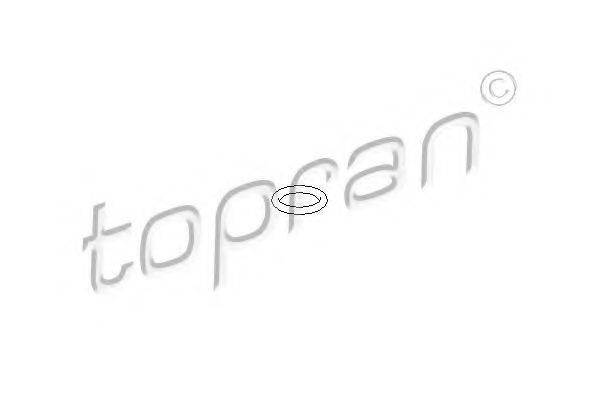 TOPRAN 205589 Прокладка, масляный насос