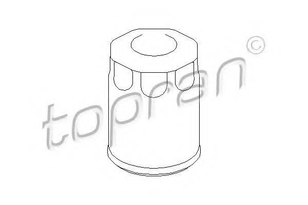 TOPRAN 201303 Масляный фильтр