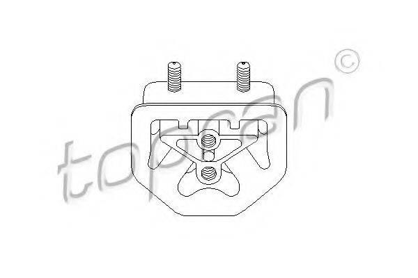 TOPRAN 201375 Подвеска, двигатель