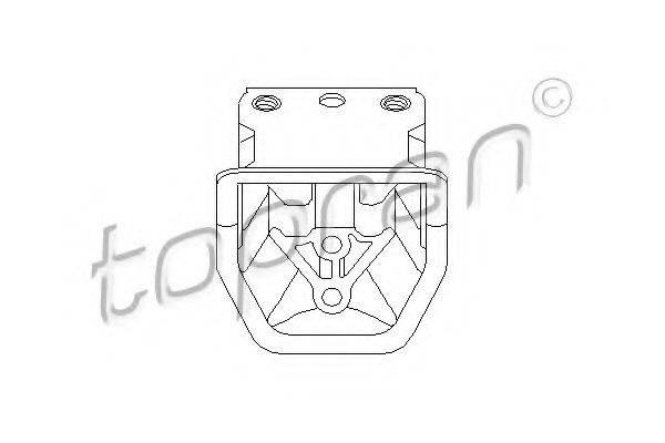 TOPRAN 201384 Подвеска, двигатель