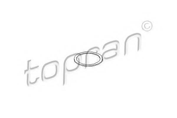 TOPRAN 206580 Уплотнительное кольцо, клапанная форсунка