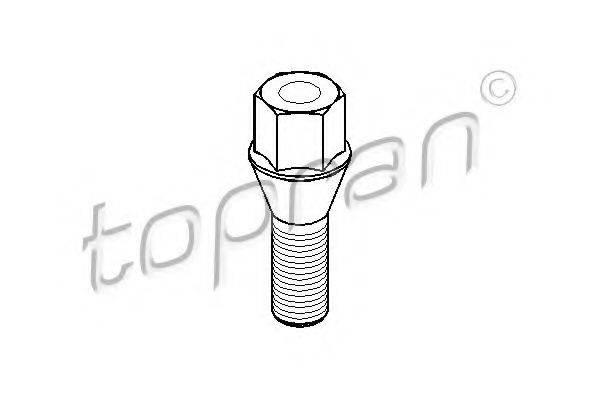 TOPRAN 201852 Болт для крепления колеса