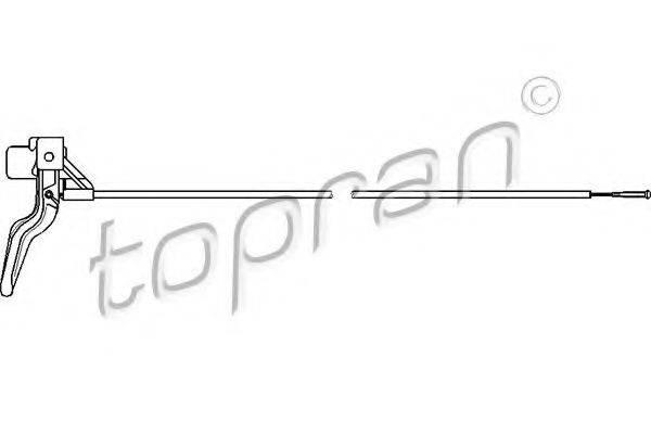 TOPRAN 206218 Тросик замка капота