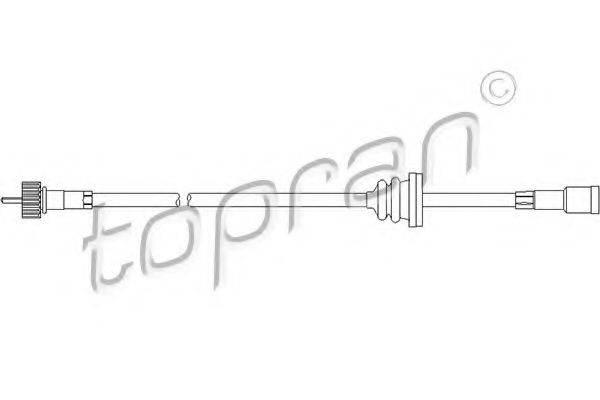 TOPRAN 202218 Тросик спидометра
