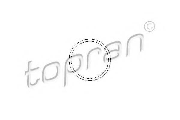TOPRAN 202288 Прокладка, водяной насос