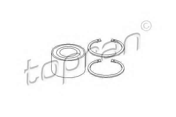 TOPRAN 202433 Комплект подшипника ступицы колеса