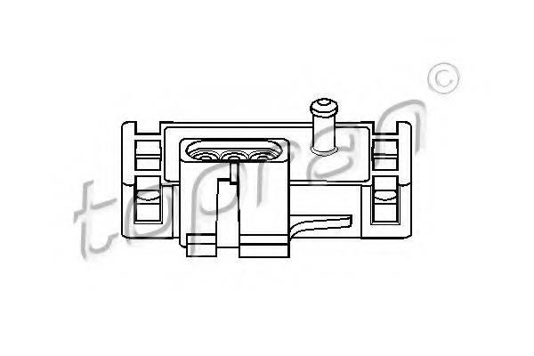 TOPRAN 206952 Датчик, давление во впускном газопроводе