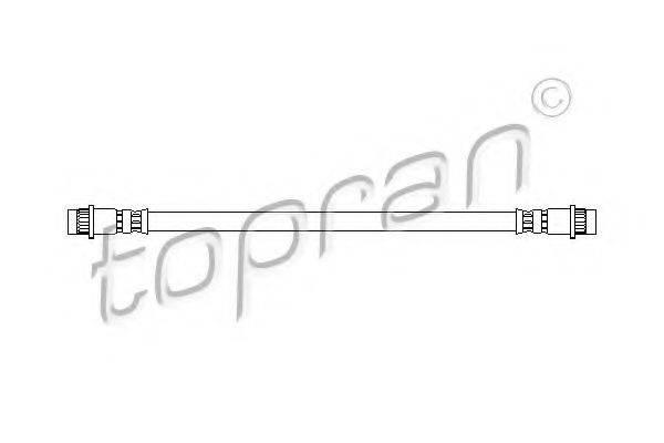 TOPRAN 720902 Тормозной шланг