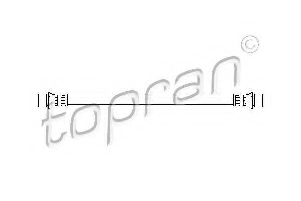 TOPRAN 720917 Тормозной шланг