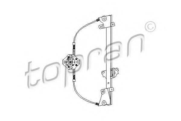 TOPRAN 200036 Подъемное устройство для окон