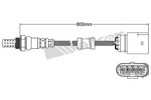 WALKER PRODUCTS 25024432 Лямбда-зонд