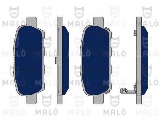 MALO 1050330 Комплект тормозных колодок, дисковый тормоз