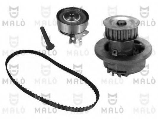 MALO W111170S Водяной насос + комплект зубчатого ремня