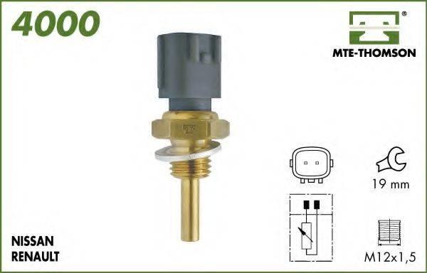 MTE-THOMSON 4000 Датчик, температура масла; Датчик, температура охлаждающей жидкости