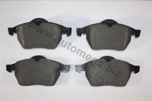 AUTOMEGA 1016050966 Комплект тормозных колодок, дисковый тормоз