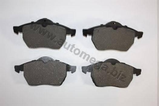 AUTOMEGA 1216050036 Комплект тормозных колодок, дисковый тормоз