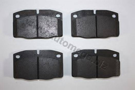 AUTOMEGA 1216050870 Комплект тормозных колодок, дисковый тормоз