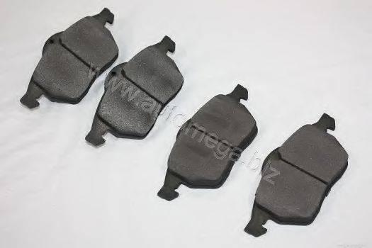 AUTOMEGA 3016050036 Комплект тормозных колодок, дисковый тормоз