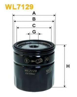 WIX FILTERS WL7129 Масляный фильтр