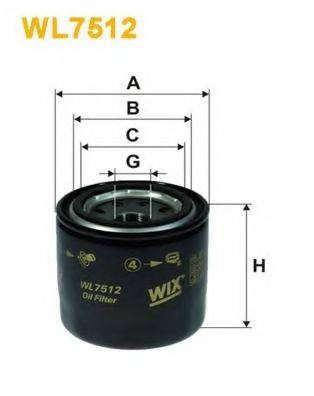 Омега WIX FILTERS WL7512 на HYUNDAI ix20 (JC)