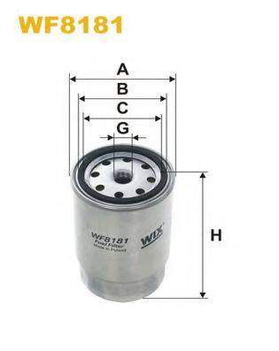 WIX FILTERS WF8181 Топливный фильтр