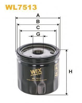 WIX FILTERSWL7513 WIX FILTERS WL7513 на RENAULT SCÉNIC III (JZ0