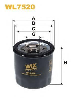 Омега WIX FILTERS WL7520 на KIA MORNING (TA)